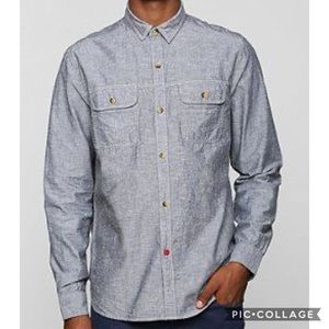 NWOT CPO | Chambray Button Down